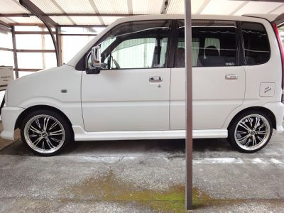 DAIHATSU MOVE AERO DOWN CUSTOM + GIOVE DT5