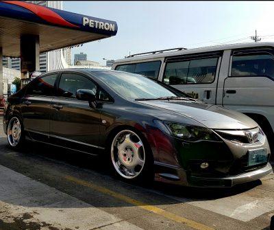 HONDA Civic FD + SHALLEN LX