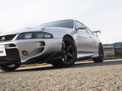 NISSAN R33 GT-R×TRACER GT-V